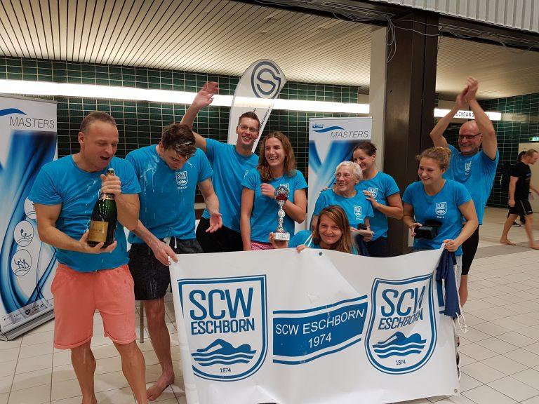 Frank Gruner - Der SCW Eschorn gewinnt 2018 die deutschen Mannschaftsmeisterschaften der Masters