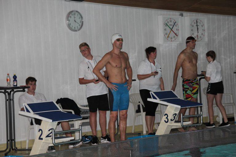 Frank Gruner - Kurz vom dem Start über 400m Lagen