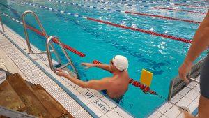 Frank Gruner - nach 200m Lagen