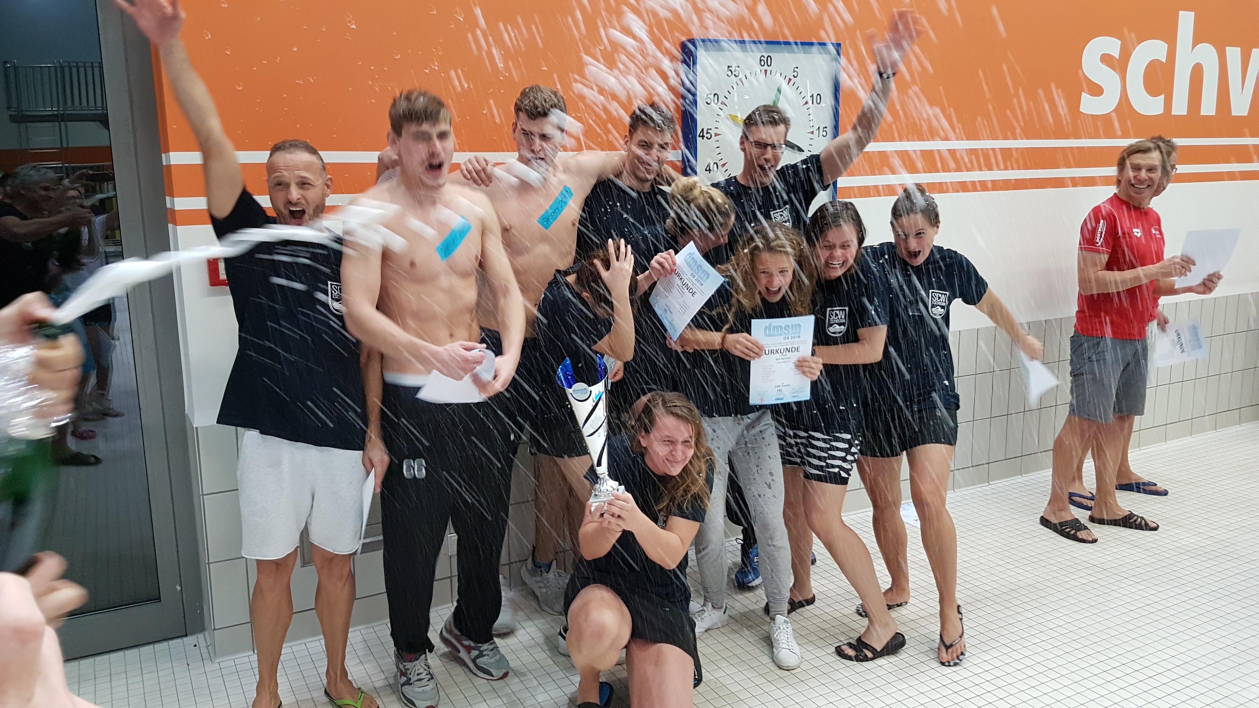 Wir haben es geschafft – der SCW Eschborn ist erneut die beste Mastersmannschaft Deutschlands