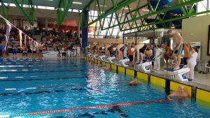 Frank Gruner - 100m Lagen vor dem Start