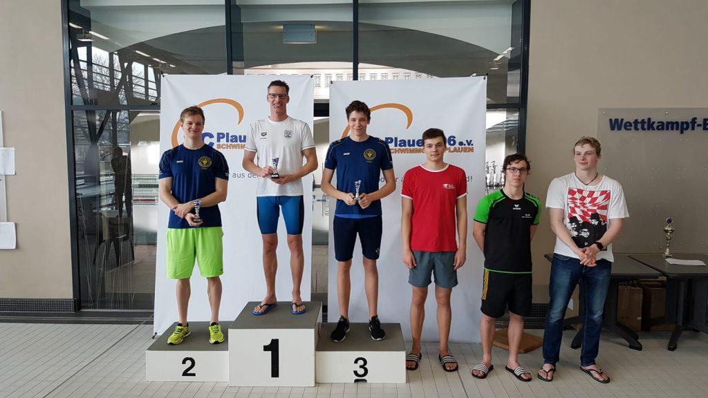 Siegerehrung - Vogtland-Schwimmcup 2020