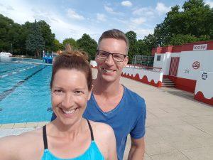 Frank Gruner - gemeinsamer Schwimmausflug