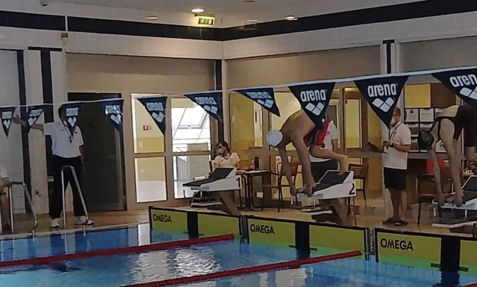 Rennanalyse 100m Lagen und 50m Freistil